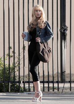 Christina Aguilera Suede Hobo