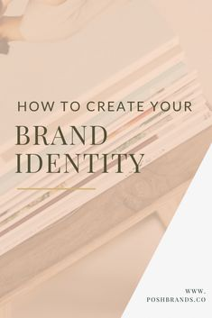 When you start a business, you start out by having a vision of how you want your business to look like, what you would do and how you do it. So what is branding and how does it help in creating your #brandidentity?