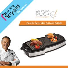 #Win a Wolfgang Puck Electric Reversible Grill and Griddle, a $145 value! http://swee.ps/lOdGqZJG 1/3/17