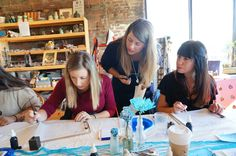 MODERN CALLIGRAPHY WORKSHOP WITH SWELL ANCHOR STUDIO IN LONG ISLAND, NY