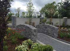 Work commencing well at the new Treacy Hotel in Carrickmacross Co Monaghan. Here we find Fernhill Stone Coursed Weather Edged Grey used in their fabulous W