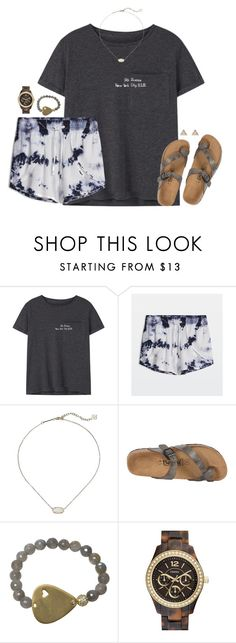 """""""nyc"""" by kaley-ii ❤ liked on Polyvore featuring MANGO, Kendra Scott, Betula, Electric Picks, FOSSIL and New Look"""
