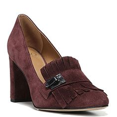 554b429437c Franco Sarto Artist Collection Ainsley Women s Pump B(M) US Burgundy. This  classic tailored pump is perfect for your office-to-evening style.