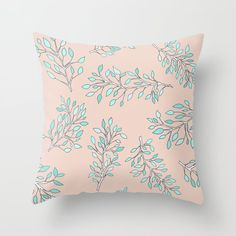 Peach, Pastel, Throw Pillows, Design, Products, Cake, Toss Pillows, Cushions