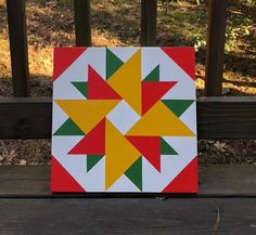 Items similar to Hand painted rustic barn quilt. double aster on Etsy Barn Quilt Designs, Barn Quilt Patterns, Wood Patterns, Quilting Designs, Quilting Patterns, Barn Quilts For Sale, Painted Barn Quilts, Wood Stars, Barn Art