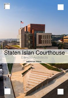The new Staten Island Court by @enneadarch stands out on the surrounding built thanks to its #sustainable #design. #LEED Silver certified. The envelop high performance, cleverly combines green roofs, redention on site of rainwater, use of local natural materials and advanced energy control systems.  https://twitter.com/SapienzaSDME