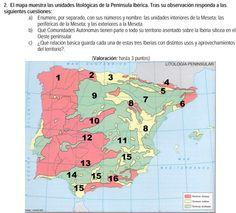 2007. Unidades litológicas.