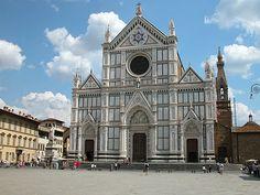 Voorgevel van de Santa Croce