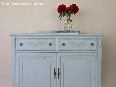 The Weathered Door: Tall Breezy Dresser