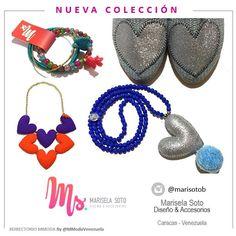 #NuevaColeccion de @marisotob  hermosa propuesta de #Accesorios súper colorido y con un estilo romántico.  Te invitamos conocer más en @marisotob @marisotob @marisotob -  DIRECTORIO MMODA  #Tendencias con sello Venezolano  #DirectorioMModa #MModaVenezuela #DiseñoVenezolano #Venezuela #newcollection #moda #style #fashion #accesories #designers