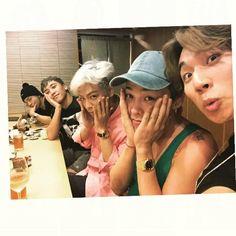 BigBang being typical BigBang. :p Daesung, Top Bigbang, Choi Seung Hyun, 2ne1, G Dragon, Btob, K Pop, Baby Baby, Big Bang Kpop