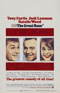 Great Race The Movie Poster 24in x36in