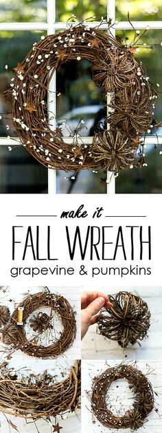 Easy Fall Wreath DIY