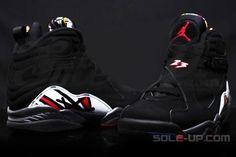 """First Look: Air Jordan 8 Retro """"Playoffs"""" 2013 http://www.equniu.com/2013/03/18/first-look-air-jordan-8-retro-playoffs-2013/"""
