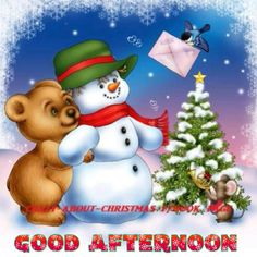 Good Afternoon sister have a nice time,xxx❤❤❤⛄❄❄❄