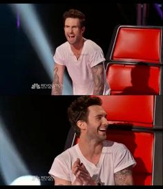 The Voice loooove him! Yes I Have, Im In Love, Adam Levine Style, Adam And Behati, 8th Grade Dance, Let's Get Married, Maroon 5, Me Tv, Shakira