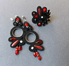 Check out this item in my Etsy shop https://www.etsy.com/listing/463770478/soutache-set-soutache-handmade-jewelry