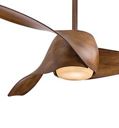 I may have found the solution to the chandalier vs ceiling fan arguement I lost :) Artemis Ceiling Fan $549.95