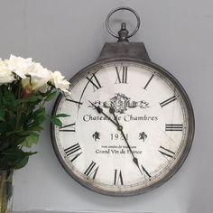 Schon Lilienburg Uhr Wanduhr Weiß Schwarz Antik Wand Nostalgie Shabby  Landhausstil XL Vintage Groß Küchenuhr K | Einrichtungsideen | Pinterest |  Wall Watch, ...