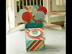 Stampin' Up! Card in a Box Video Tutorial