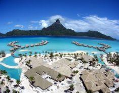 Bora-Bora Island, Tahiti