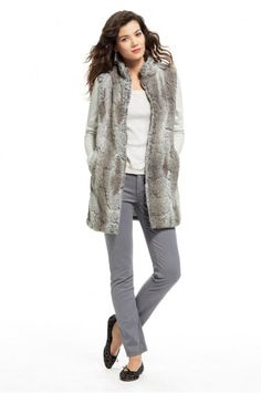 Faux Fur River Vest