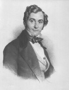 Albert Lortzing (1801-1851), engraving (1845), by Friedrich Gustav Schlick (1804-1869).