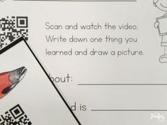 salmon videos attached to QR codes Teacher Bags, Teacher Resources, Teaching Ideas, Primary Classroom, Qr Codes, Literacy Activities, Life Cycles, First Grade, Science Fun