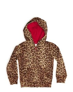 Wild Cat Zip Hoodie - Gifts For Kids - Lucky Brand Jeans