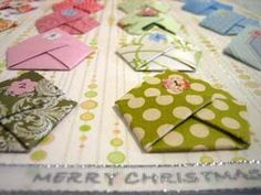 DIY Homemade Advent Calendar - Idea for Nursing homes? Add scriptures inside each day