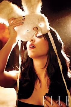 Katy Perry Fotos, Circus Fashion, Women's Fashion, Carter Smith, Bunny Mask, Fantastic Voyage, Elle Magazine, Teenage Dream, Celebs