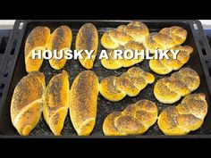 Recept na rohlíky a housky - YouTube Hot Dog Buns, Amanda, Sausage, Youtube, Meat, Fruit, Butter, Sausages, Youtubers
