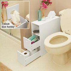 TOPSELLER! White Slim Bathroom Storage Organizer... $99.98