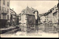 Annecy - Haute Savoie, Le Canal et Vieille Prison