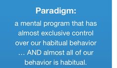 """Bob Proctor: """"A creative Productive Paradigm, is the difference between Goals and Reality""""."""
