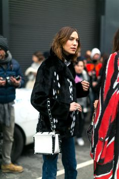 The best looks on the wintry streets of New York City: