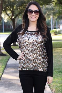 Sequins Top $37.00 at www.modernego.com/sequins-top.html
