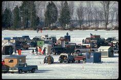 Ice Fishing in Wisconsin