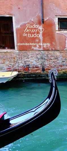 Veneza, um lugar cheio de experiências incomuns. #veneza #italia #viagem #viajar #turismo #fotografia #oladobomdetudoblog
