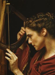 the Art of the Feminine is Hypatia of Alexandria, portrayed by actress Rachel Weisz in the 2009 movie Agora, directed by Alejandro Amenábar, which focuses on Hypatia's final years.