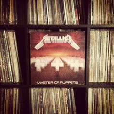 This one goes to eleven… #nowspinning #metallica #masterofpuppets #vinyl #recordcollection #joy 1986
