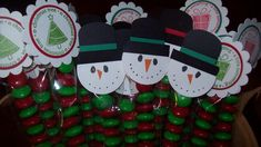 Candy Tubes with Toppers by mamaxsix - Cards and Paper Crafts at Splitcoaststampers