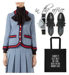 """busy at work"" by chocopiesweet on Polyvore featuring Bebe, Gucci, Max&Co. and BKE"