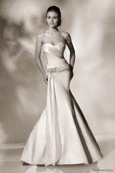 cristiano lucci 2013 wedding dress style 12808 charlize strapless sweetheart mermaid