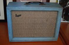 Vintage RARE 1964 Supro Bantam Blue Guitar Amp 50L6 12AX7 Tubes Pro Checked WOW   eBay  ..Give Lawman Guitars a call..515-864-6136..