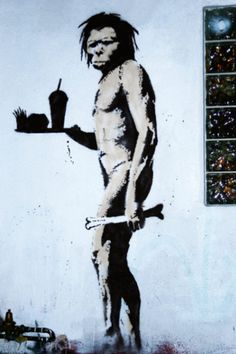 Banksy is an England-based graffiti artist. His satirical street art and subversive epigrams combine irreverent dark humor with graffiti done in a distinctive Banksy Graffiti, Street Art Banksy, Graffiti Piece, Bansky, Graffiti Artists, Trucage Photo, Pop Art, Art Public, Urbane Kunst
