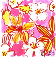 Visit your local farmers market for some fresh flowers this weekend! #lilly5x5