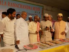 Participated as Chief Guest at Iftar party organized by Shri Chintala Rama Chandra Reddy,MLA along with Shri Mohammad Ali, Deputy Chief Minister Govt of Telangana, Shri Nayani Narasimha Reddy, Home Minister Govt of Telangana, Shri Dr K Laxman, BJP State President & Shri Kishan Reddy Gangapuram, BJLP Leader.