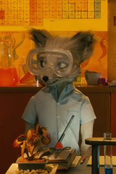 Kristofferson is one of my favorite characters in Fantastic Mr. Fox. Great movie!