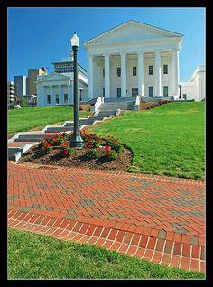 Virginia Capitol in Richmond, VIRGINIA, USA.